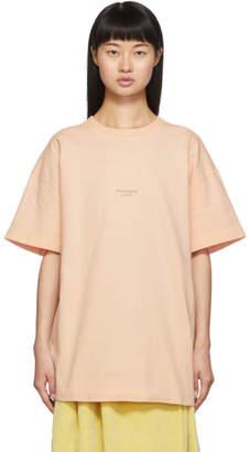 Acne Studios Pink Jaxon T-Shirt