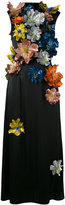 Christopher Kane sleeveless flower embellished dress