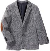 Isaac Mizrahi Ribbed Weave Wool Blend Blazer (Toddler, Little Boys, & Big Boys)