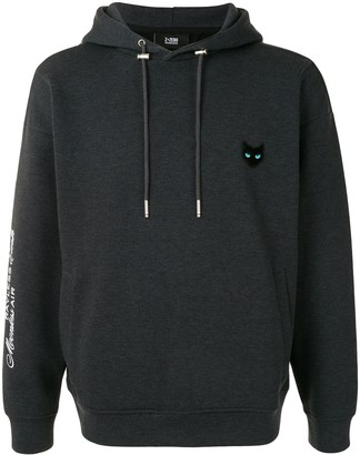 ZZERO BY SONGZIO Panther embroidered hoodie