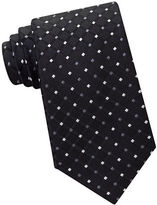 MICHAEL Michael Kors Diamond Pattern Silk tie