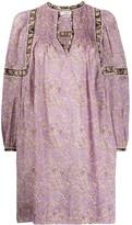 Etoile Isabel Marant Virginie long-sleeve dress