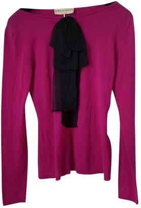 Emilio Pucci Pink Wool Knitwear for Women