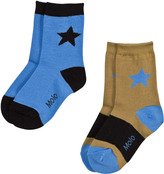 Molo Blue and Gold Nitis Socks