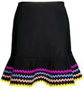 Karla Colletto Zola Pull-On Skirt
