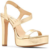 3f440559881 Katy Perry Covered Heels Women s Sandals - ShopStyle