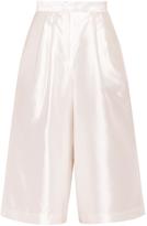 Suno Wide Leg Silk Culottes