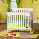 Child Craft Ashton Mini 4-in-1 Convertible Crib in Matte White