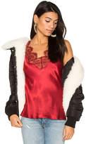 LPA Coat with Faux Fur Trim 112 in Black