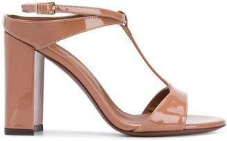 L'Autre Chose Block Heel Sandals