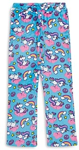 Candy Pink Girls' Yogacorn Fleece Pajama Pants - Big Kid