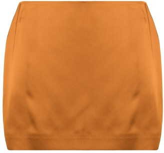 GAUGE81 Mini Satin Skirt
