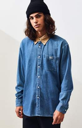 Obey Nolan Denim Button Up Shirt