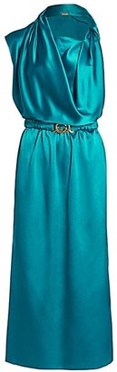 Dodo Bar Or Orian Satin Belted Dress