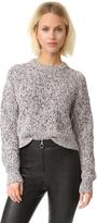 Alexander Wang Half Cardigan Knit Pullover