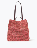 Marks and Spencer Straw Tote Bag