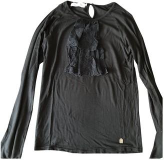 Christian Dior Black Cotton Tops
