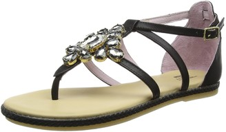 Stonefly Women's LUX 5(405-11) Leather Ankle Strap Sandals