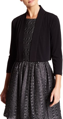 Calvin Klein Knit Shawl Collar Shrug
