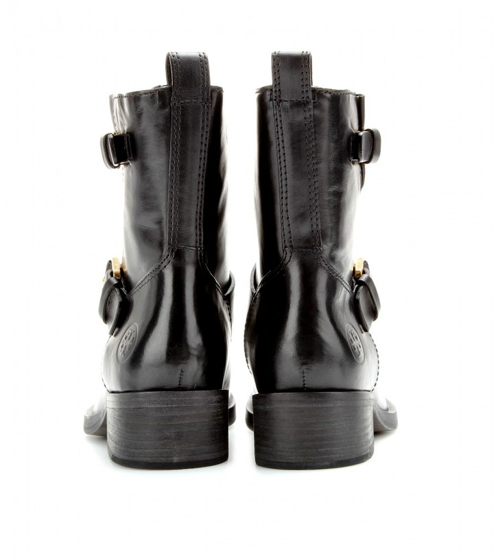 Tory Burch Bennie leather boots
