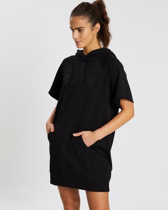 DKNY Track Logo Sneaker Dress