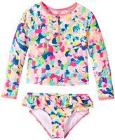 Lilly Pulitzer UPF 50+ Mini Sydney Sunguard Girl's Swimwear Sets