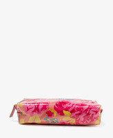 Forever 21 Coated Floral Cosmetic Bag