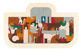 Hape Toddler Noah's Ark Wooden Puzzle