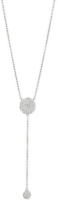 Phillips House Infinity 14K White Gold & Diamond Double Infinity Y-Necklace