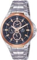 Casio Men's Edifice EF326D-1AV Stainless-Steel Quartz Watch