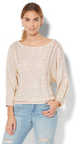 New York & Co. Sequin Dolman Sweater