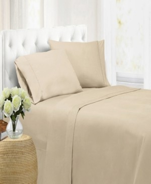 Swift Home Ultra Soft Microfiber Double Brushed Blissful Dreams King Sheet Set Bedding