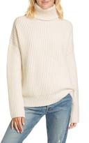 La Ligne Ribbed Turtleneck Cashmere Sweater