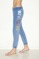 Rebel Yell Malibu Skinny Sweats in Vintage Royal