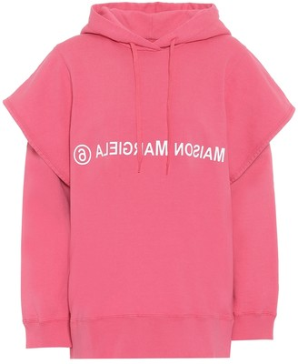 MM6 MAISON MARGIELA Logo cotton hoodie