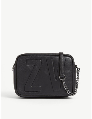 Zadig & Voltaire Boxy XS leather cross-body bag