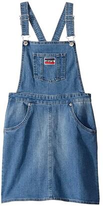 Levi's Kids Woven Jumper Dress (Big Kids) (Annex) Girl's Clothing