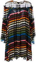 Sonia Rykiel stripe flared top - women - Silk - 36