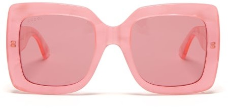 5afd8b13225e Gucci Oversized Square Sunglasses - ShopStyle