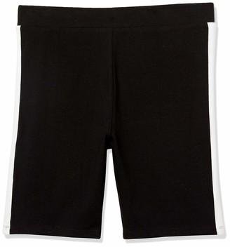 Forever 21 Women's Plus Size Striped-Trim Biker Shorts