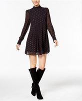 Catherine Malandrino Catherine Mock-Neck Shift Dress