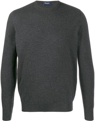 Drumohr Cashmere Crew-Neck Sweater