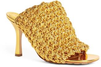 Bottega Veneta Leather Board Sandals 80
