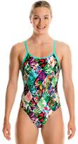 Funkita Girls Jungle Jam Diamond Back One Piece