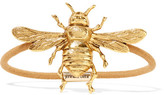 Jennifer Behr Bee Gold-tone Hair Tie - one size