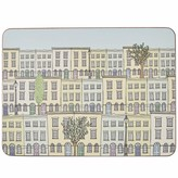 Rosa & Clara Designs London Townhouses Placemats Set Of Four Large