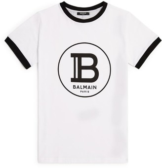 Balmain Kids Logo T-Shirt (8-16 Years)