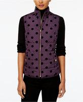 Charter Club Velour Dot Vest, Created for Macy's