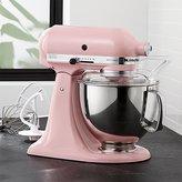 Crate & Barrel KitchenAid ® Artisan Guava Glaze Stand Mixer
