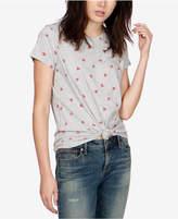 Lucky Brand Heart-Print T-Shirt